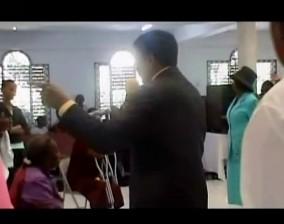 Girl Healed from Blindness